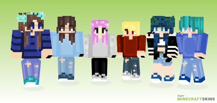 Piano Minecraft Skins - Best Free Minecraft skins for Girls and Boys