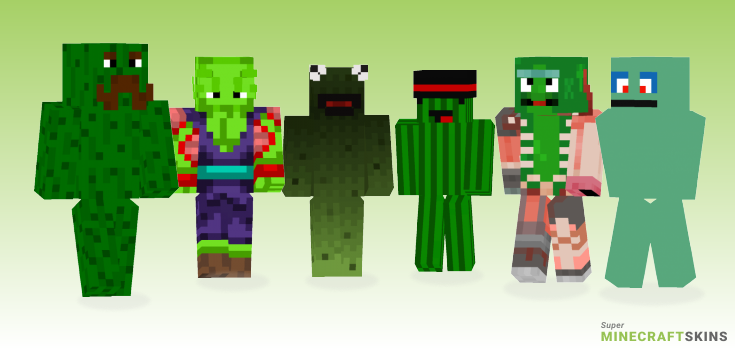 Pickle Minecraft Skins - Best Free Minecraft skins for Girls and Boys