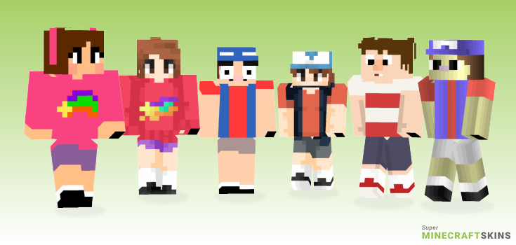 Pines Minecraft Skins - Best Free Minecraft skins for Girls and Boys