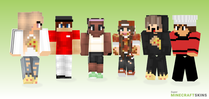 Pizza Minecraft Skins - Best Free Minecraft skins for Girls and Boys