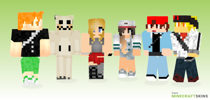 Pokemon Minecraft Skins - Best Free Minecraft skins for Girls and Boys