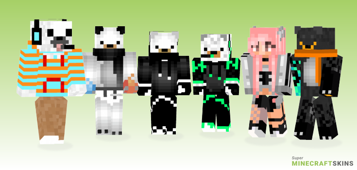 Polarbear Minecraft Skins - Best Free Minecraft skins for Girls and Boys