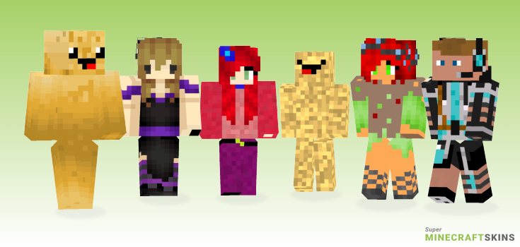 Potato Minecraft Skins - Best Free Minecraft skins for Girls and Boys
