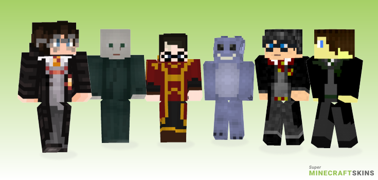 Potter Minecraft Skins - Best Free Minecraft skins for Girls and Boys