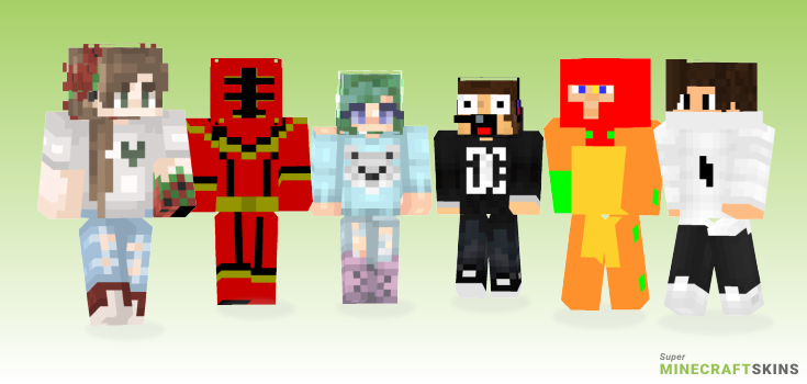 Power Minecraft Skins - Best Free Minecraft skins for Girls and Boys