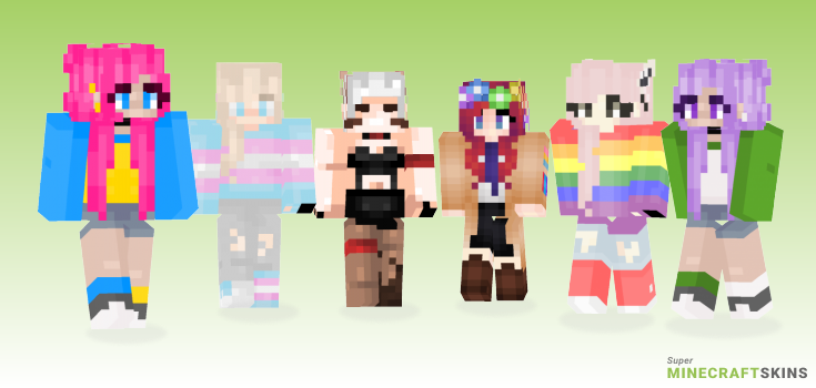 Pride Minecraft Skins - Best Free Minecraft skins for Girls and Boys