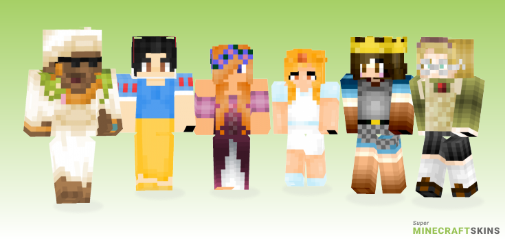 Princess Minecraft Skins - Best Free Minecraft skins for Girls and Boys