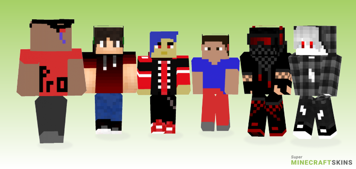 Pro Minecraft Skins - Best Free Minecraft skins for Girls and Boys