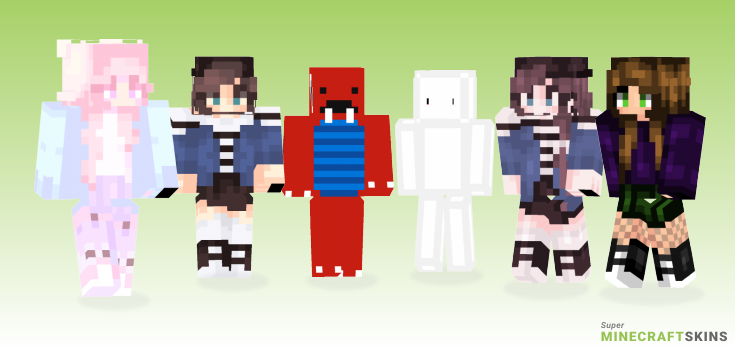 Puff Minecraft Skins - Best Free Minecraft skins for Girls and Boys