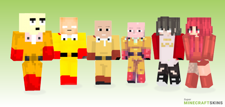 Punch Minecraft Skins - Best Free Minecraft skins for Girls and Boys