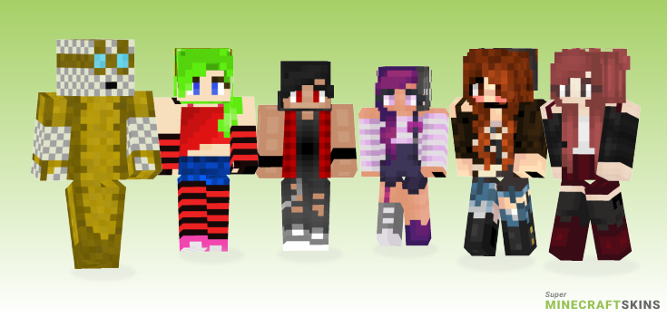 Punk Minecraft Skins - Best Free Minecraft skins for Girls and Boys