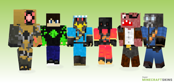 Pyro Minecraft Skins - Best Free Minecraft skins for Girls and Boys