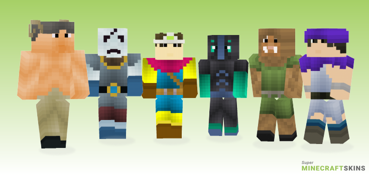 Quest Minecraft Skins - Best Free Minecraft skins for Girls and Boys