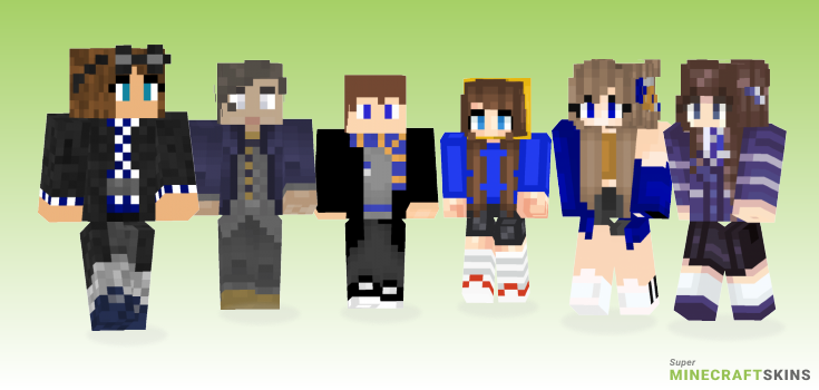 Ravenclaw Minecraft Skins - Best Free Minecraft skins for Girls and Boys