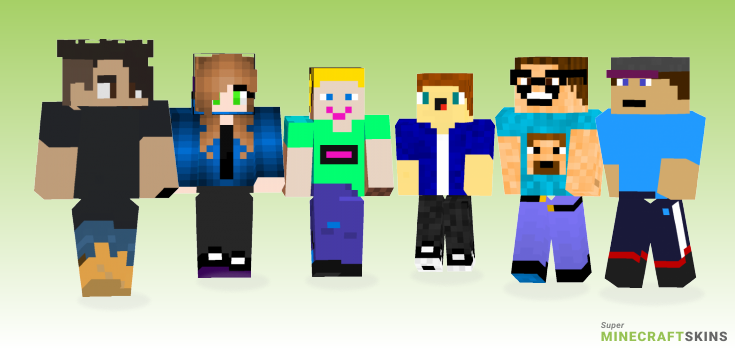 Real Life Minecraft Skins. Download For Free At