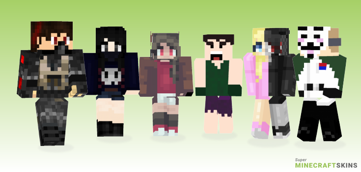 Really Minecraft Skins - Best Free Minecraft skins for Girls and Boys