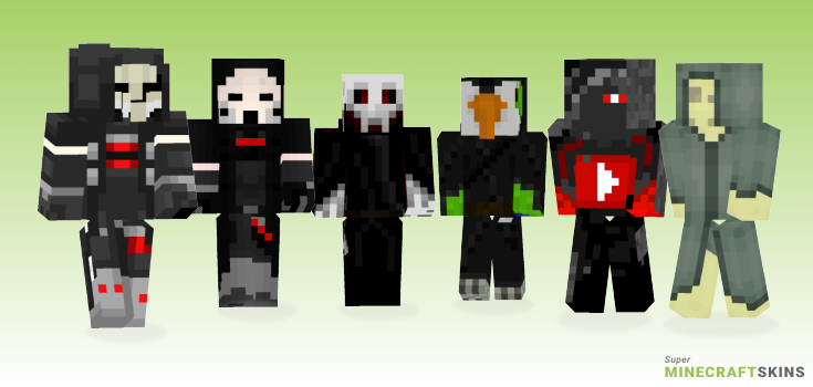 Reaper Minecraft Skins - Best Free Minecraft skins for Girls and Boys
