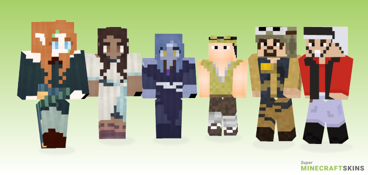 Rebel Minecraft Skins - Best Free Minecraft skins for Girls and Boys