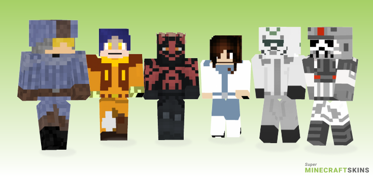 Rebels Minecraft Skins - Best Free Minecraft skins for Girls and Boys