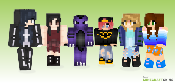 Requested Minecraft Skins - Best Free Minecraft skins for Girls and Boys