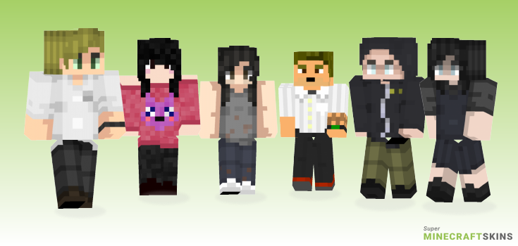 Resident evil Minecraft Skins - Best Free Minecraft skins for Girls and Boys