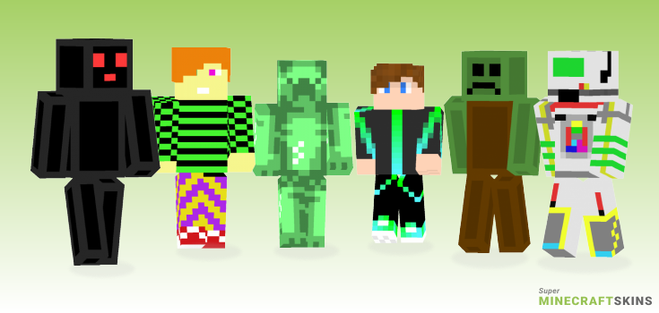 Retro Minecraft Skins - Best Free Minecraft skins for Girls and Boys