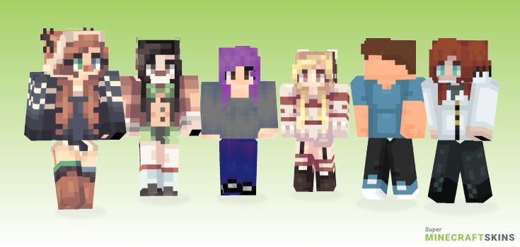 Reveal Minecraft Skins - Best Free Minecraft skins for Girls and Boys