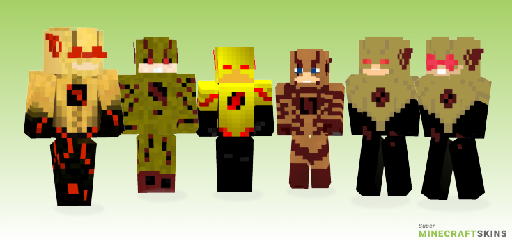 Reverseflash Minecraft Skins - Best Free Minecraft skins for Girls and Boys