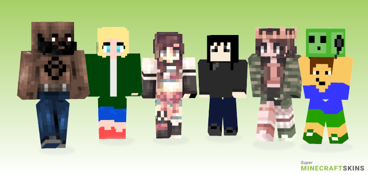 Ride Minecraft Skins - Best Free Minecraft skins for Girls and Boys