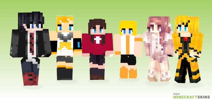 Rin Minecraft Skins - Best Free Minecraft skins for Girls and Boys