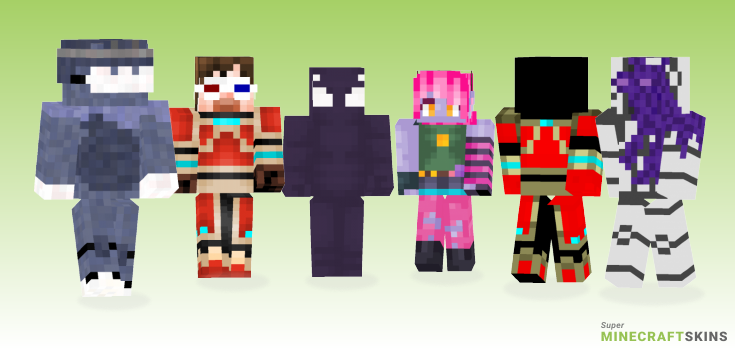 Riot Minecraft Skins - Best Free Minecraft skins for Girls and Boys