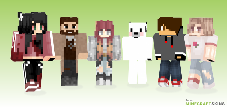 Rip Minecraft Skins - Best Free Minecraft skins for Girls and Boys