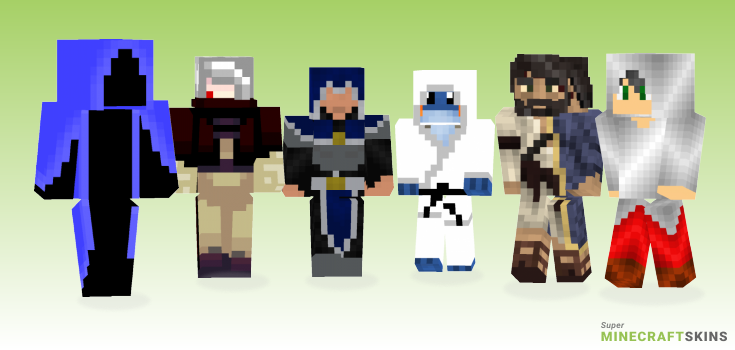 Robed Minecraft Skins - Best Free Minecraft skins for Girls and Boys