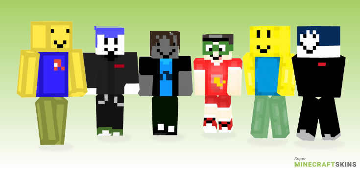 Roblox Minecraft Skins - Best Free Minecraft skins for Girls and Boys