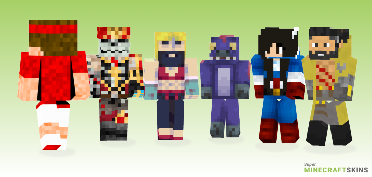 Roger Minecraft Skins - Best Free Minecraft skins for Girls and Boys