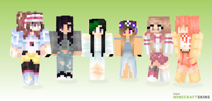 Rosa Minecraft Skins - Best Free Minecraft skins for Girls and Boys