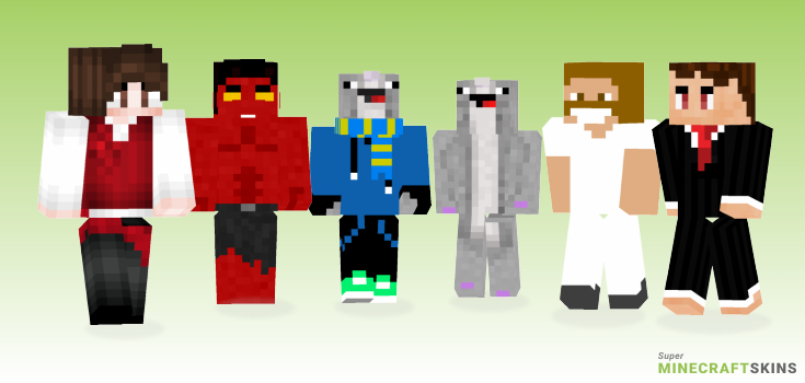 Ross Minecraft Skins - Best Free Minecraft skins for Girls and Boys