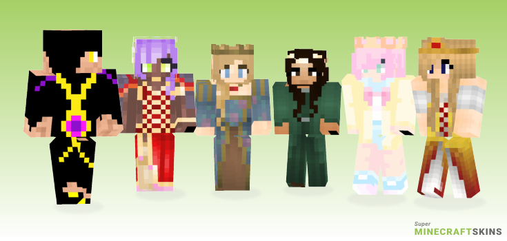 Royalty Minecraft Skins - Best Free Minecraft skins for Girls and Boys