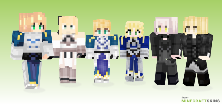 Saber Minecraft Skins - Best Free Minecraft skins for Girls and Boys