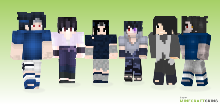 Sasuke uchiha Minecraft Skins - Best Free Minecraft skins for Girls and Boys