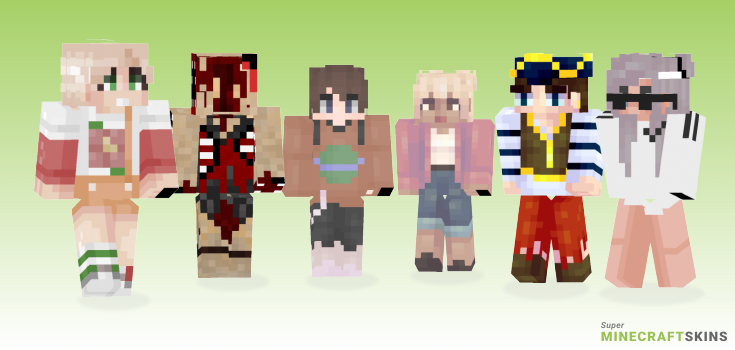 Say Minecraft Skins - Best Free Minecraft skins for Girls and Boys