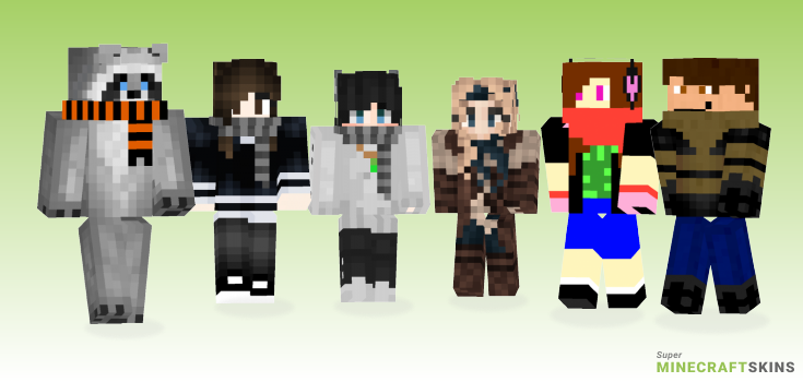 Scarf Minecraft Skins - Best Free Minecraft skins for Girls and Boys
