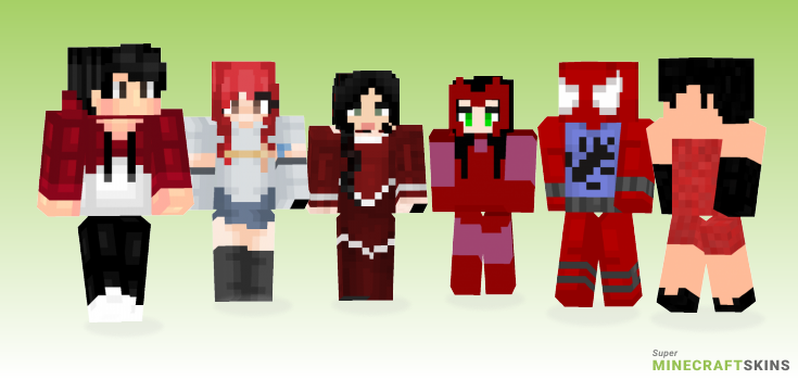 Scarlet Minecraft Skins - Best Free Minecraft skins for Girls and Boys