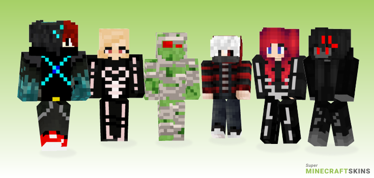 Scary Minecraft Skins - Best Free Minecraft skins for Girls and Boys