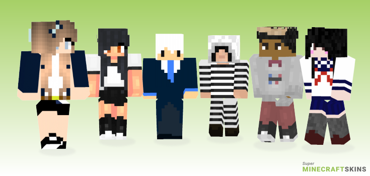 School Minecraft Skins - Best Free Minecraft skins for Girls and Boys