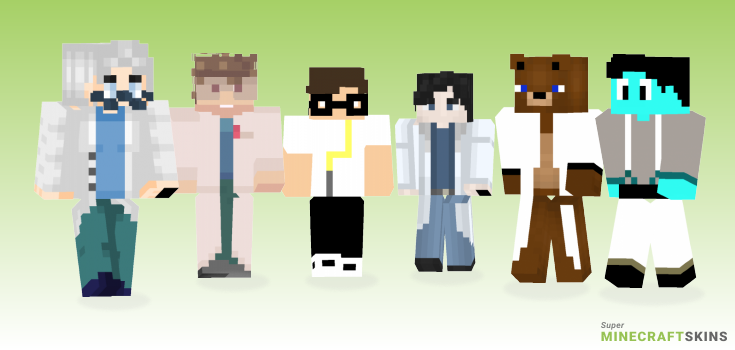Science Minecraft Skins - Best Free Minecraft skins for Girls and Boys