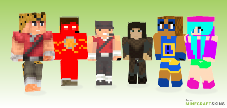 Scout Minecraft Skins - Best Free Minecraft skins for Girls and Boys