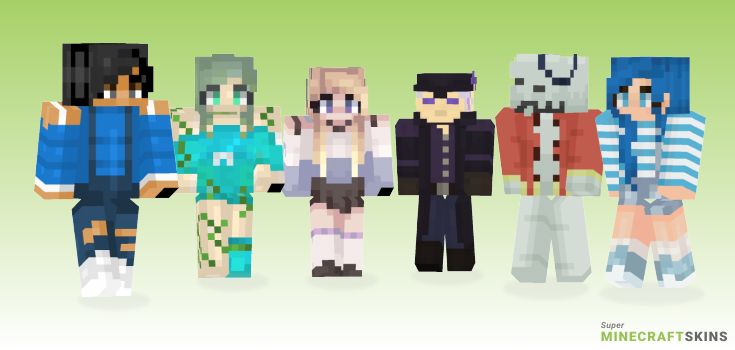 Sea Minecraft Skins - Best Free Minecraft skins for Girls and Boys