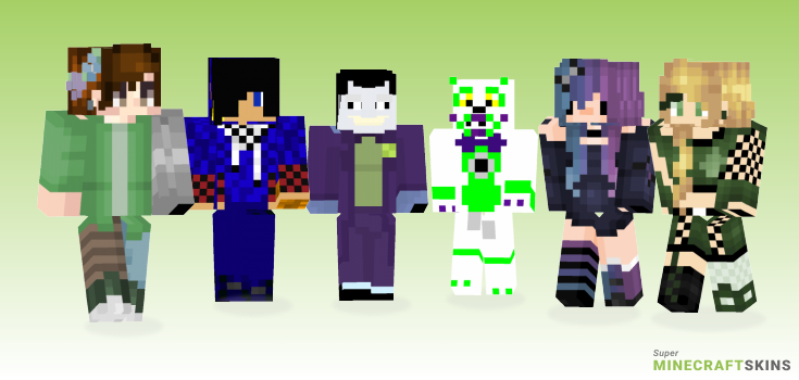 Series Minecraft Skins - Best Free Minecraft skins for Girls and Boys