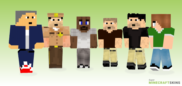 Shane Minecraft Skins - Best Free Minecraft skins for Girls and Boys